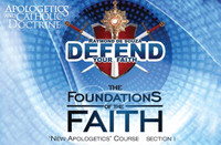 Apologetics and Catholic Doctrine - Set 1: the Foundations of the Faith - Raymond de Souza KM (MP3 Series)
