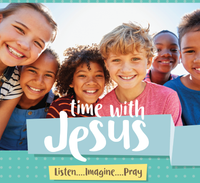 Time with Jesus: Listen....Imagine....Pray - Beheld Media (MP3)
