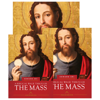A Biblical Walk Through the Mass - **New Edition**  Dr Edward Sri - Ascension Press (Starter Pack)