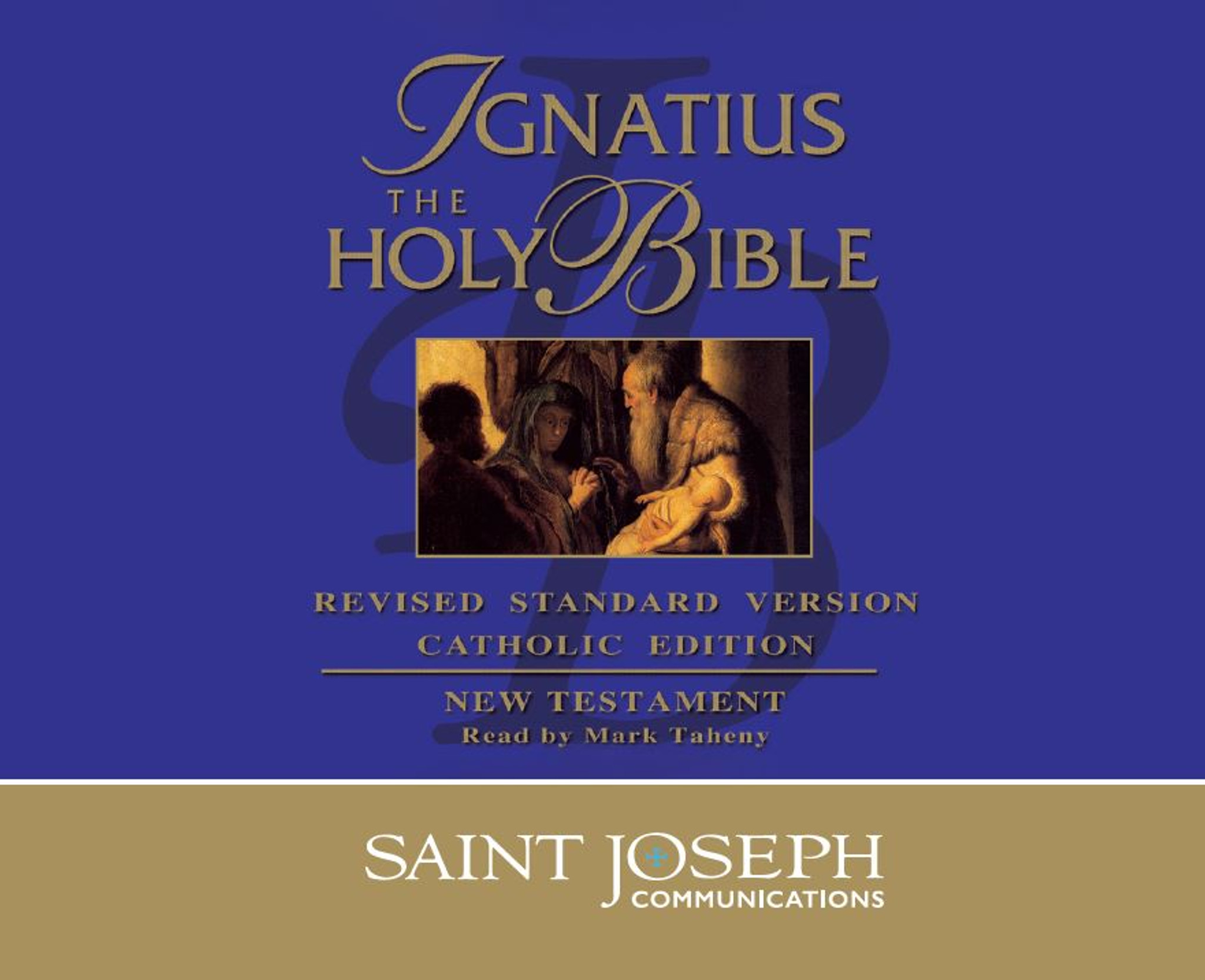 Ignatius - The Holy Bible: RSV New Testament - Audio Bible - St Joseph  Communications - 14CD Set