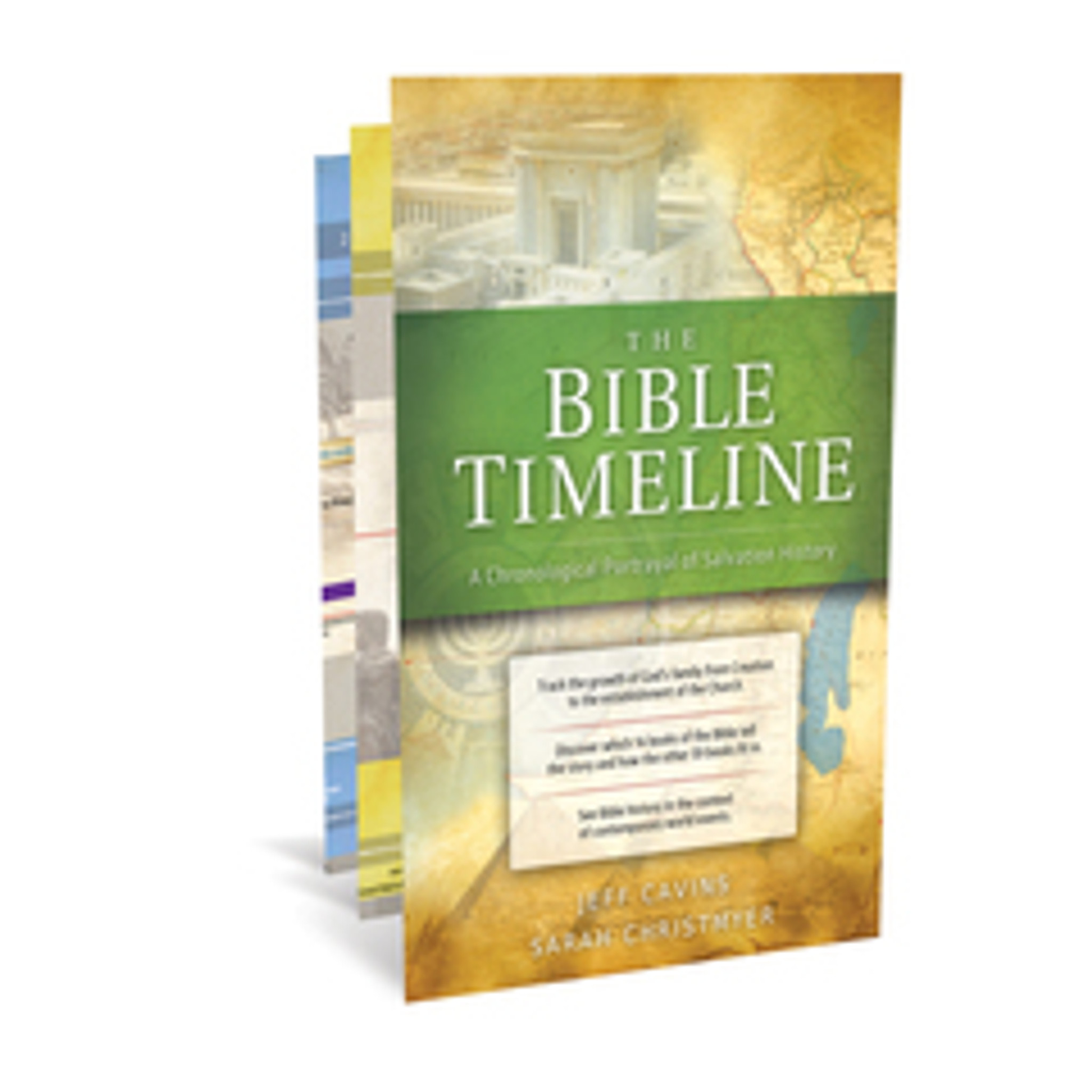 The Bible Timeline Chart - Jeff Cavins & Sarah Christmyer - Ascension Press  (CHART)