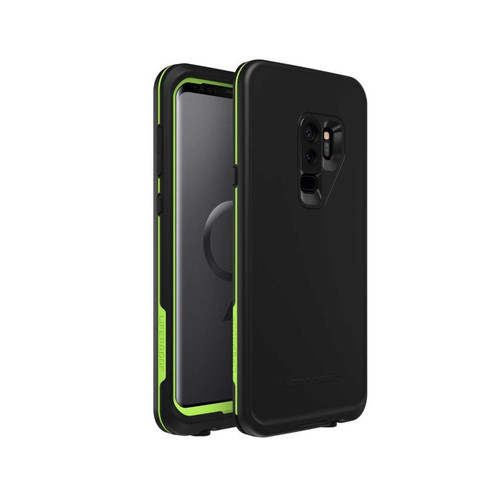 Lifeproof Fre Waterproof Case for Samsung Galaxy S9+ - Black/Lime