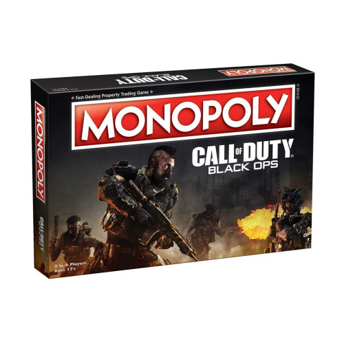 Monopoly Call of Duty Black Ops Board Games Age 17+