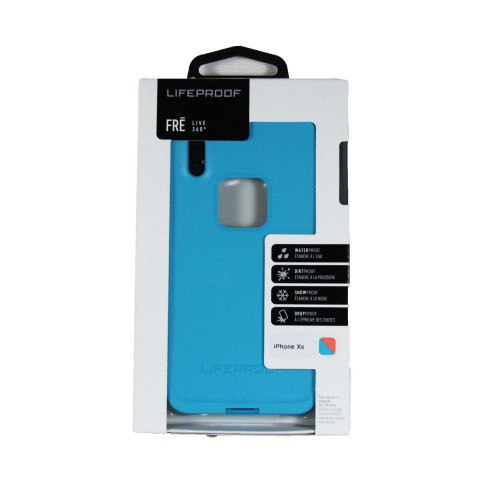 Lifeproof Fre Waterproof Case for iPhone Xs - Blue