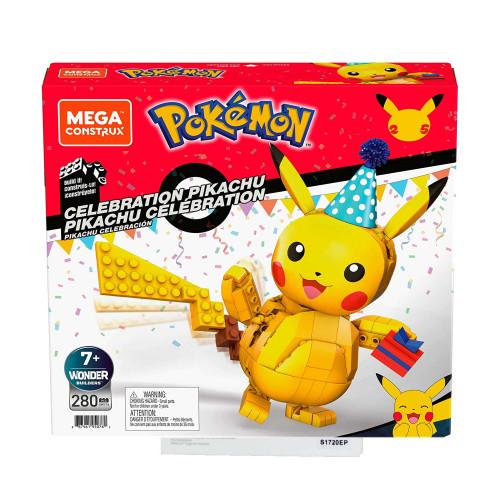 Mega Construx Pokemon Celebration Pikachu Age 7+