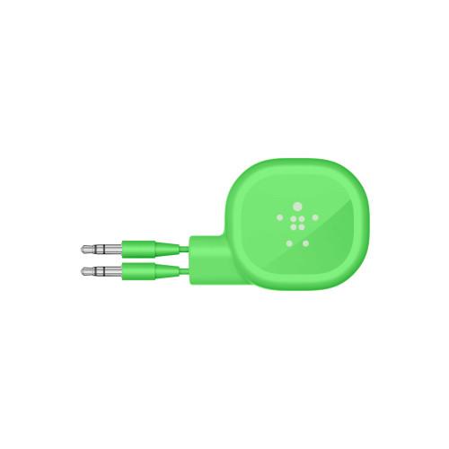 Belkin Mixit Retractable Audio AUX 90cm Cable  - Green