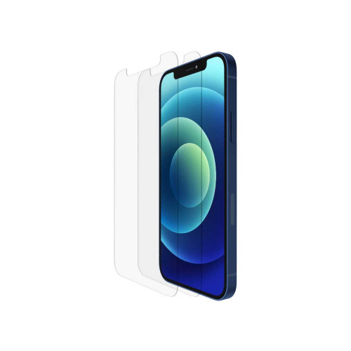 Playa by Belkin Tempered Glass for iPhone 12  / iPhone 12 Pro 2 Pack