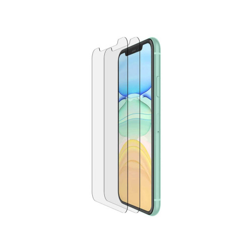 Playa by Belkin Tempered Glass for iPhone 11 / XR 2 Pack