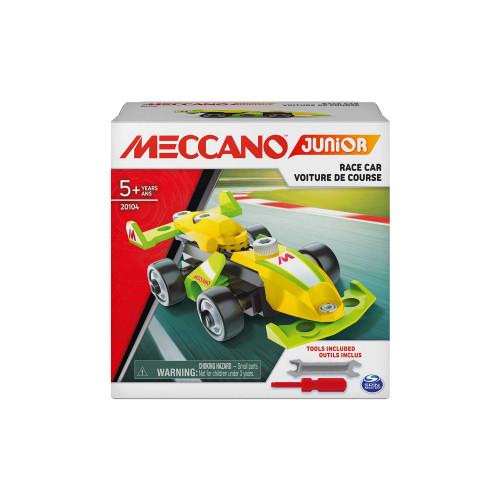 Meccano Junior Race Car Vehicle Building Kit