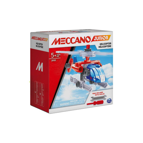 Meccano Junior Helicopter Vehicle Building Kit