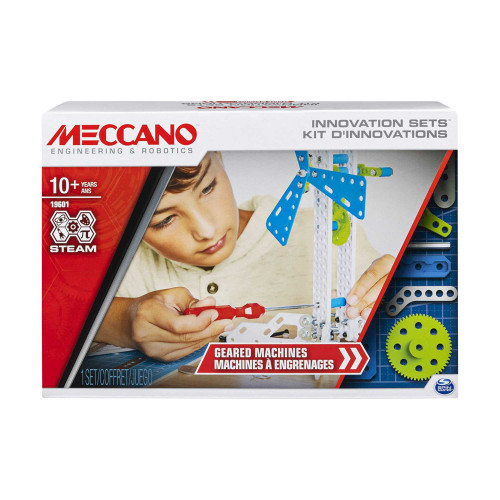 Meccano Innovation Sets Geard Machines Building Kit STEAM
