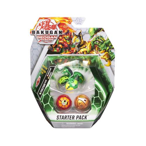 Bakugan Geogan Rising Starter Pack Pincitaur Ultra, Spartillion, Ferascal