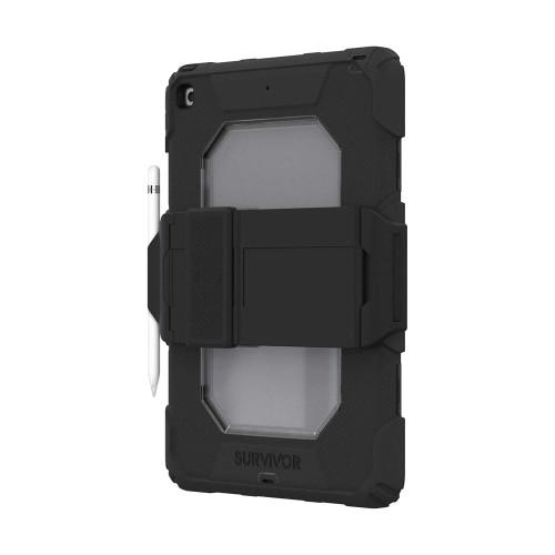Griffin Survivor All-Terrain Rugged Case for iPad 10.2 7th Gen 2019 & 8th Gen 2020 - Black
