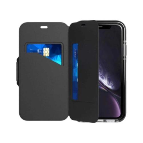 Tech21 Evo Wallet for iPhone XR  - Black