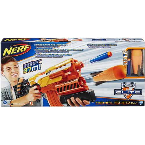 Nerf N-Strike Elite Demolisher 2-in-1 Motorized Blaster