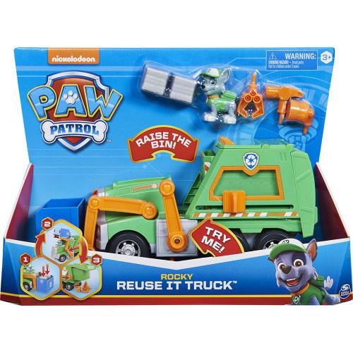 Paw Patrol Rocky Reuse It Truck Age 3+