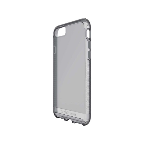 Tech21 Impact Clear for iPhone SE 2020 8 7 - Smokey Translucent