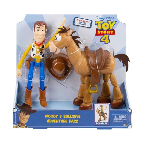 Mattel Toy Story Woody and Bullseye Disney Pixar