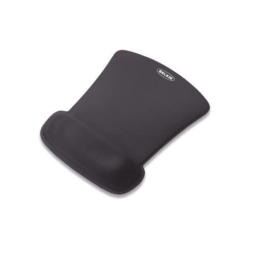 Belkin WaveRest Gel Mouse Pad with Wrist Pillow - Black