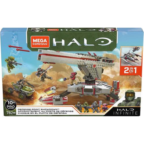 Mega Construx Halo Infinite Defense Point Showdown 2 in 1 Building Kit