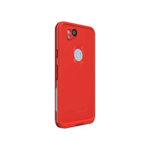 Lifeproof Fre Waterproof Case for Google Pixel 2 - Grey/Red