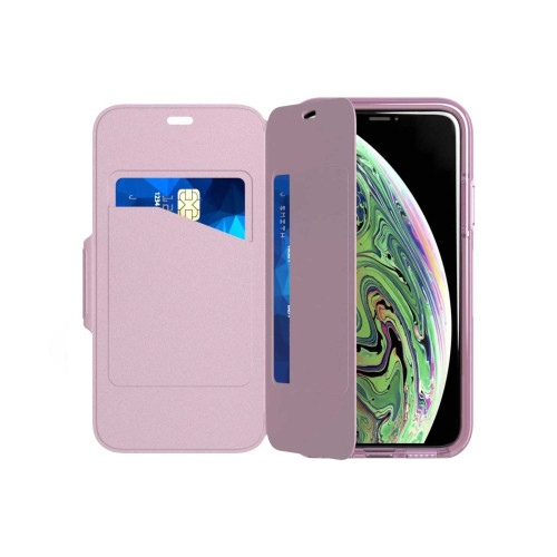 Tech21 Evo Wallet for iPhone XS Max - Orchid
