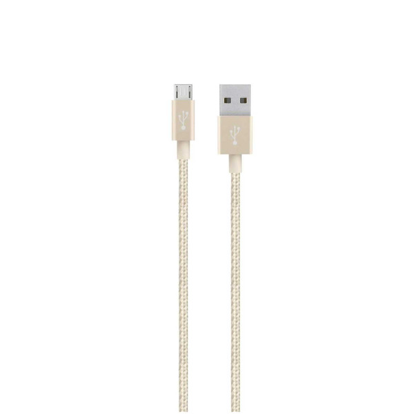 Belkin Mixit Metallic Micro USB to USB-A Cable 1.2m - Gold