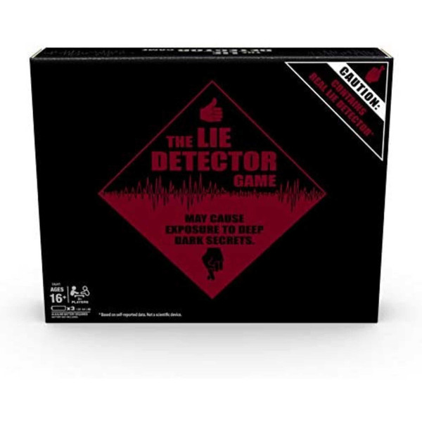 Hasbro The Lie Detector Game Adult Party Game