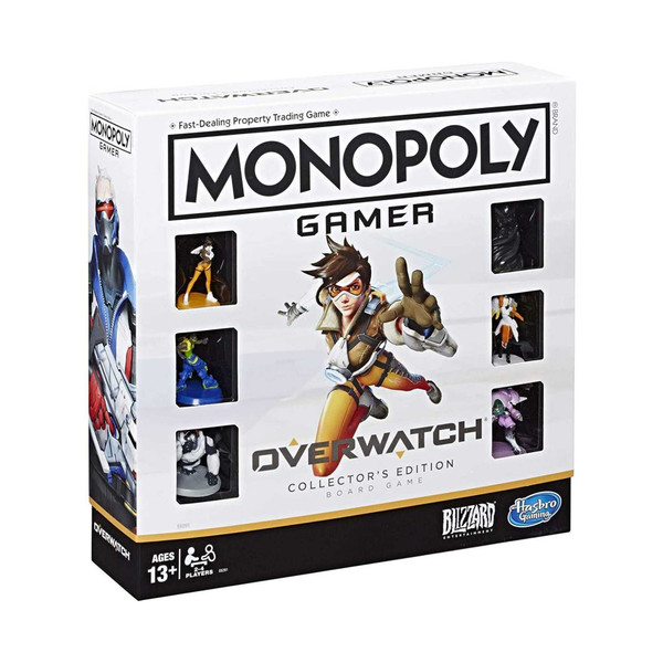 Monopoly Gamer Overwatch Collector's Edition Board Games