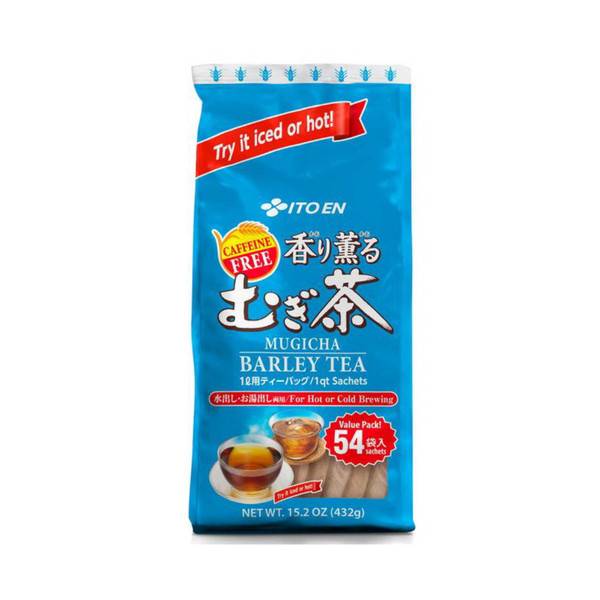 Ito En Mugicha Barley Tea Bags 54 Satchets Caffeine Free Hot or Cold