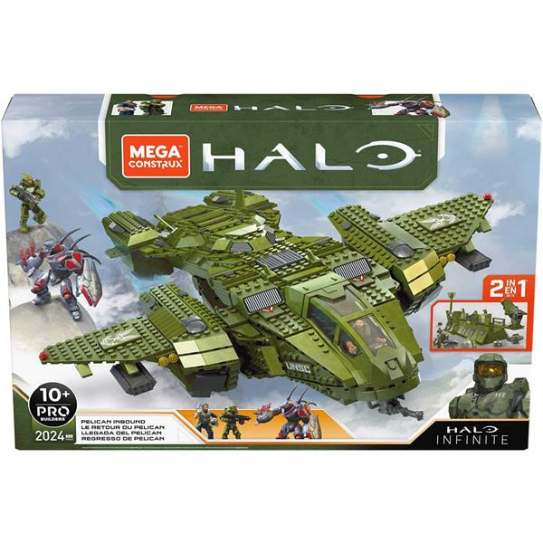 Mega Construx Halo Infinite Pelican Inbound 2 in 1 Vehicle Building Kit