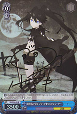 Black Rock Shooter, Girl from an Alien World BR/SE06-22 Signed
