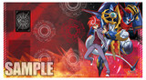 "Fighter's Rubber Play Mats Extra Vol.6 ""Chrono Shindou & Chronojet Dragon"""