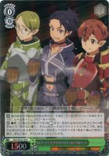 """""""Sleeping Knights"""" Talken & Nori & Jun SAO/SE26-09 Foil"""