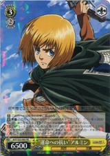 """Resisting Fate"" Armin AOT/S35-002"