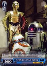 STAR WARS C-3PO &BB]8 &R2]D2 SW/S49-125 PR