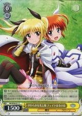 Fate & Nanoha, Gentle Light And Wind NR/W58-011 C