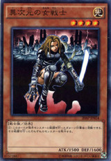 D.D. Warrior Lady 20AP-JP024 Normal Parallel Rare