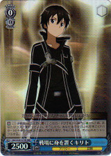 Kirito, Putting Self on the Battlefield SAO/S20-079R RRR