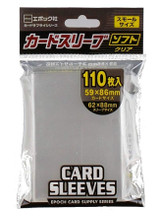 【62×88mm】Epoch Clear Sleeves  110 Sheets