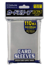 【66×92mm】Epoch Clear Sleeves  110 Sheets