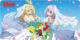 Misaki&kourin Wedding Playmat and Dragonic Overlord Victory play mat