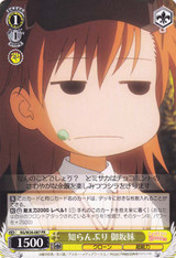 Misaka's Little Sister, Pretending Not to Know RG/W26-087 PR