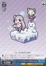 Emilia & Puck, Pixellated (Memory Snow) RZ/S68-104 PR