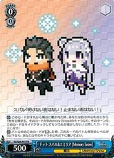 Subaru & Emilia, Pixellated (Memory Snow) RZ/S68-P01 PR