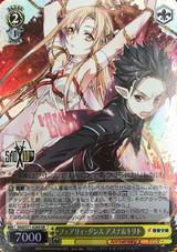 Asuna & Kirito, Fairy Dance SAO/S71-020S SR