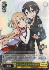 Asuna & Kirito, Moment's Rest SAO/S71-021S SR