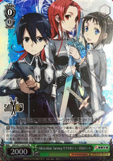 Kirito & Tiese & Ronye, Alicization Turning SAO/S71-042S SR