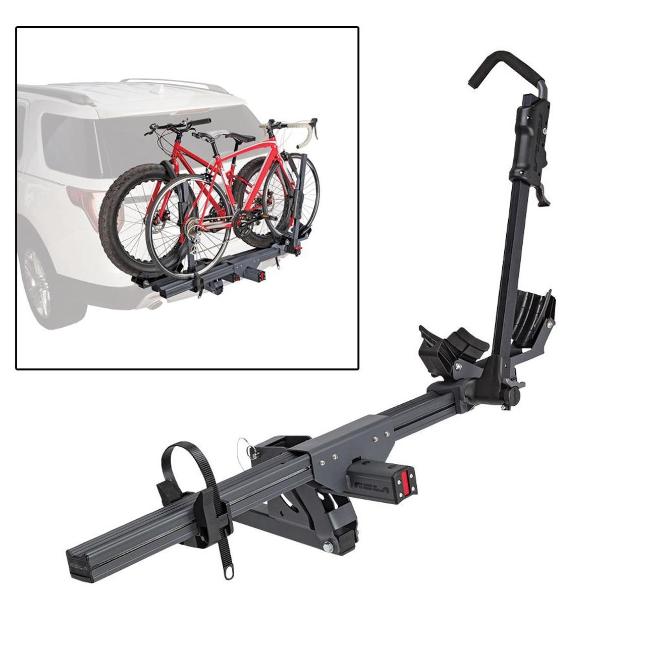 TX w//Tilt /& Security ROLA Bike Carrier Hitch Mount 4-Bike