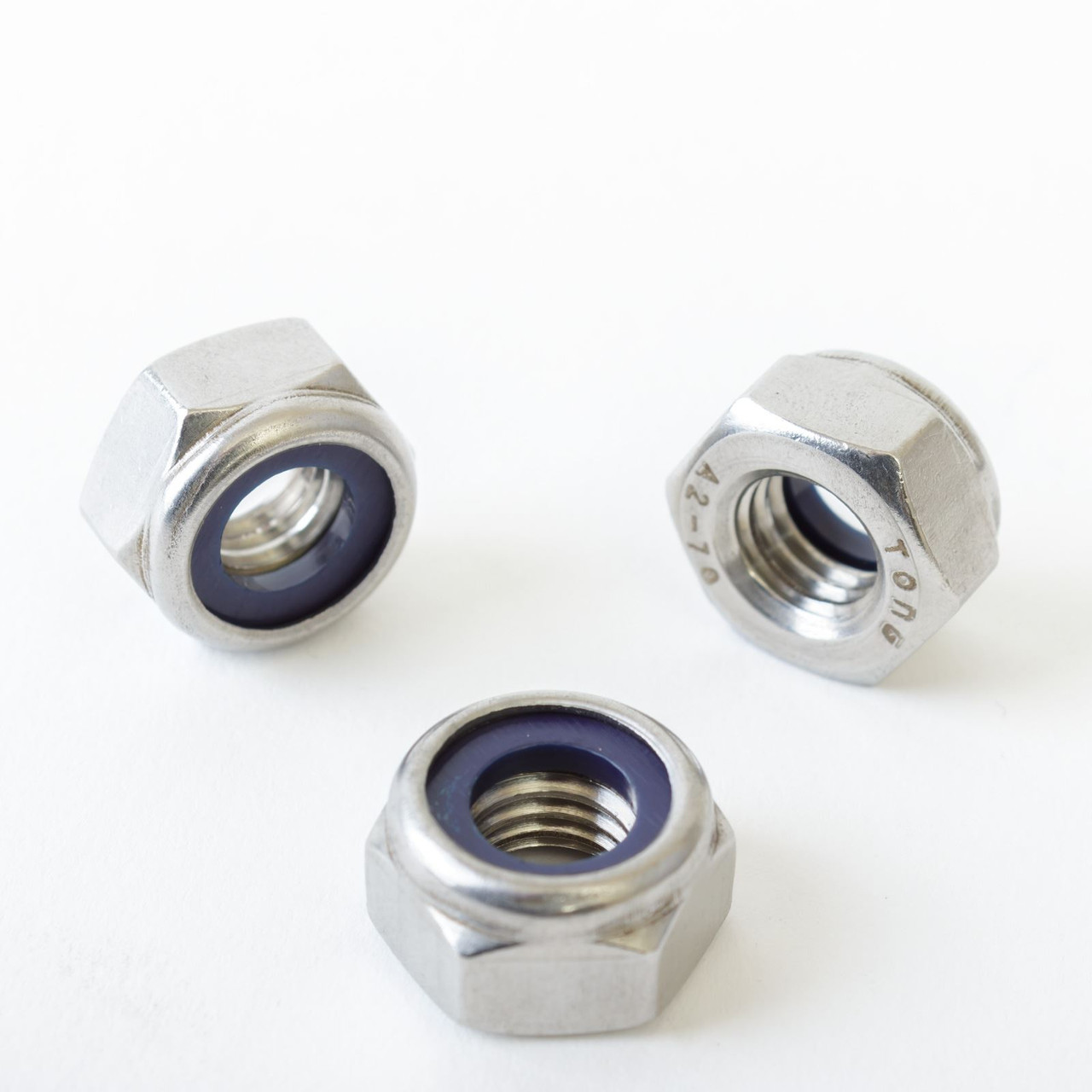 Full /& Nyloc Nuts,Washers A2 Stainless Steel M5 5mm Hexagon Bolts